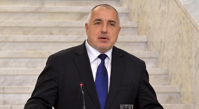 Премиерът Бойко Борисов поздрави българските лекари по случай професионалния им