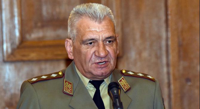 Началникът на отбраната генерал Андрей Боцев днес ще участва в