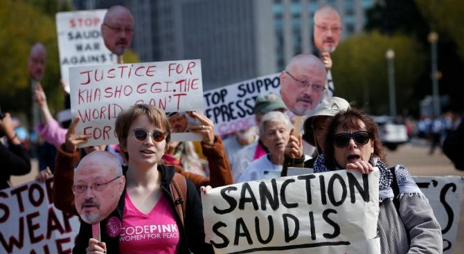 """Великобритания заяви днес, че обмисля """"следващи стъпки"""", след като Саудитска"""