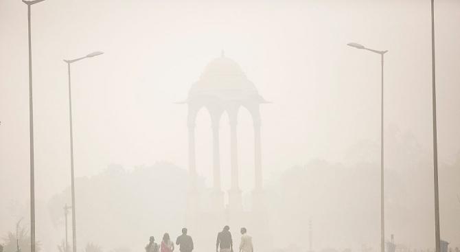 Организаторите на полумаратон в Делхи използваха свръхвисокочестотни радиовълни, за да