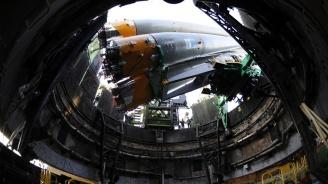 Повреден космически кораб се превръща в спасителна капсула