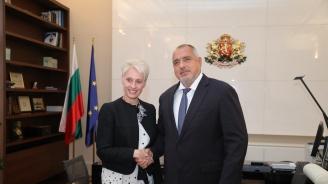 Бойко Борисов се срещна с посланика на Великобритания Ема Хопкинс
