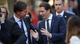 Марк Рюте и Себастиан Курц смятат, че все още може да бъде постигната сделка за Брекзит