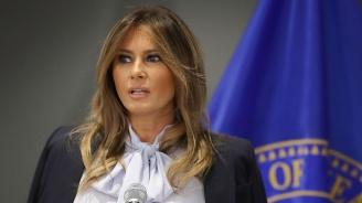"""""""Мелания Тръмп"""" направи стриптийз в Белия дом (видео)"""