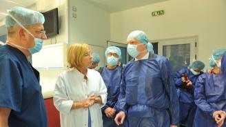 Експерти от ECDC се запознаха с антибиотичната политика на ВМА