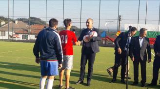 Цветан Цветанов откри спортна площадка в село Старцево (снимки)
