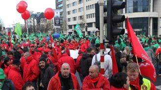 Брюксел е изправен пред стачки на полицаи и митничари в трудни дни