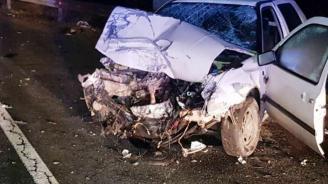 Катастрофа на пътя Царево – Приморско, има ранени
