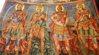 Вандали поругаха фрески на Захари Зограф в Бачковския манастир