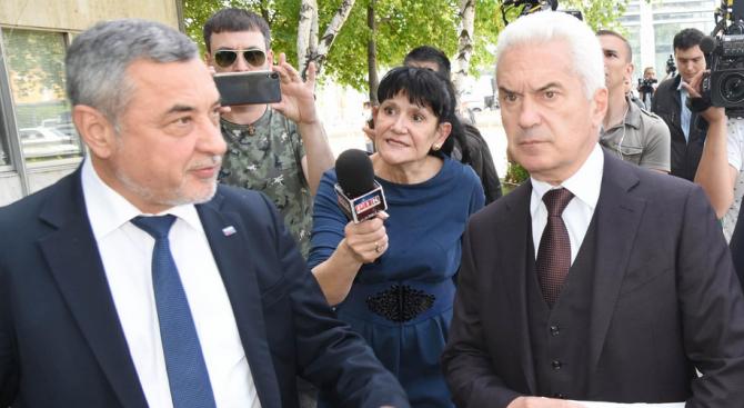 """Ръководството на партия """"Атака"""" сваля политическото си доверие от вицепремиера"""