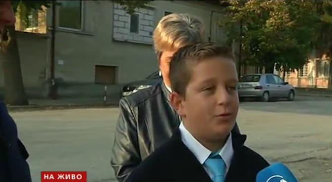 Момче от Велики Преслав е помогнало на полицията за разкриване