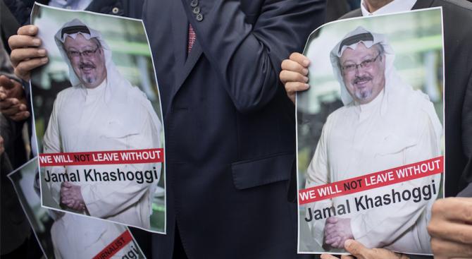 Европейският парламент единодушно осъди днес убийството на журналиста Джамал Хашоги