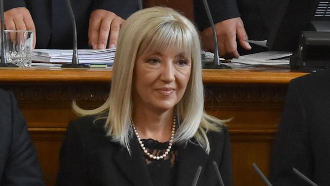Министърът на регионалното развитие и благоустройството Петя Аврамова ще бъде