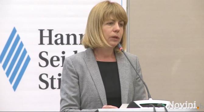 """Кметът на София Йорданка Фандъкова откри конференцията """"Трафик на хора"""