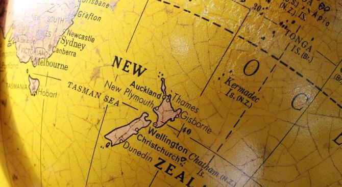 Нова Зеландия се постави в центъра на света (видео)
