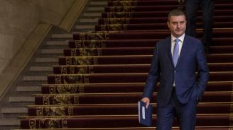 Владислав Горанов и Бисер Петков представят пред КНСБ бюджет 2019