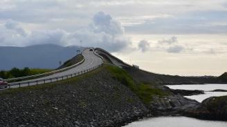 Атлантическият път - един от най-опасните и живописни пътища в света (видео)