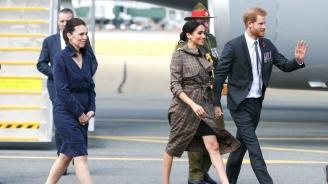 Принц Хари и Меган пристигнаха на посещение в Нова Зеландия