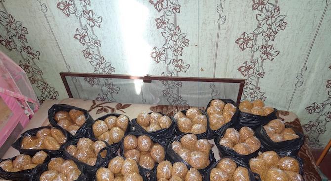 Задържаха 100 кг тютюн във Видин (снимки)