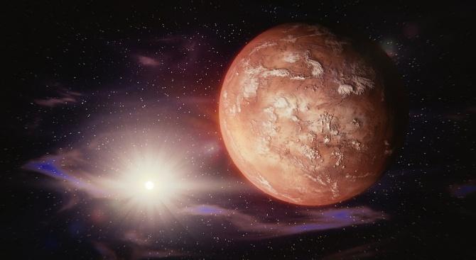 На Марс има химични съставки, които могат да се използват за ракетно гориво