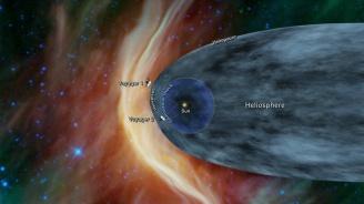 """""""Вояджър 2"""" стигна до границите на Слънчевата система"""