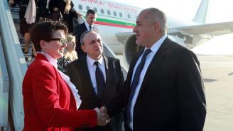 Бойко Борисов пристигна в Атина (снимки)