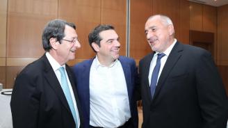 Борисов разговаря с Ципрас и президента на Кипър