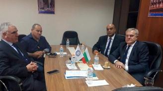 Румен Петков се срещна с председателя на Обединените търговски палати на Либия