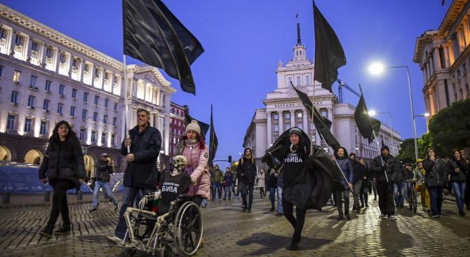 15-и пореден ден продължава протеста на майки на деца с