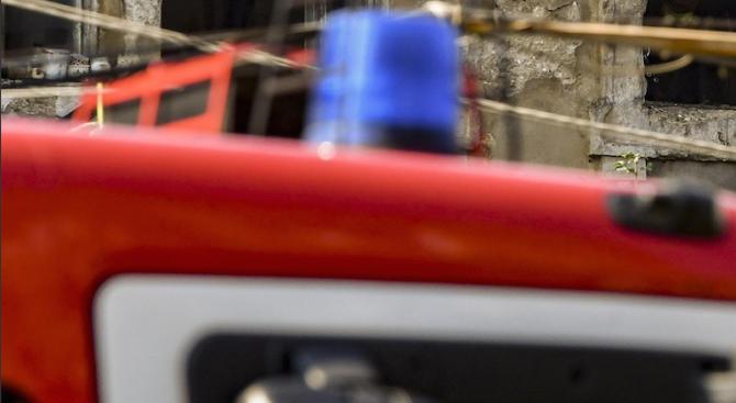 Пожар е горял в Центъра за психично здраве в Търговище.