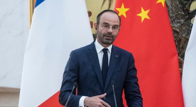 Френският премиер Едуар Филип изрази днес сериозно безпокойство от факта,
