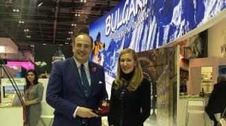 Ангелкова разговаря с Майкъл Елис, министър на туризма, културното наследство и изкуствата на Великобритания