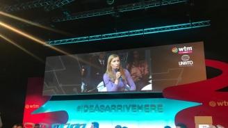 """Ангелкова участва в министерската среща """"Инвестиции в туристически технологии"""" от програмата на WTM-Лондон"""