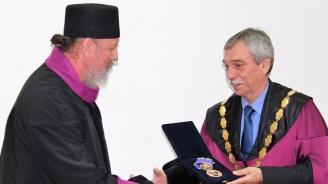 Струмишкият митрополит Наум е новият почетен доктор на Великотърновския университет