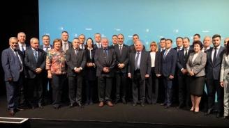 Цветан Цветанов и кметове от ГЕРБ се срещнаха с Жозеф Дол