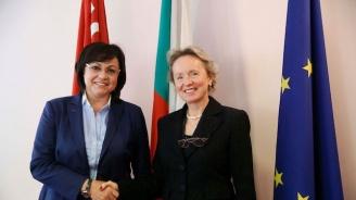 Корнелия Нинова се срещна с посланика на Австрия у нас Андреа Вике