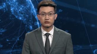 В Китай беше представен първият дигитален телевизионен водещ (видео)