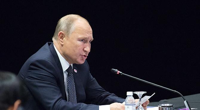 Путин: Западът трябва да осъди политическите убийства в Донбас