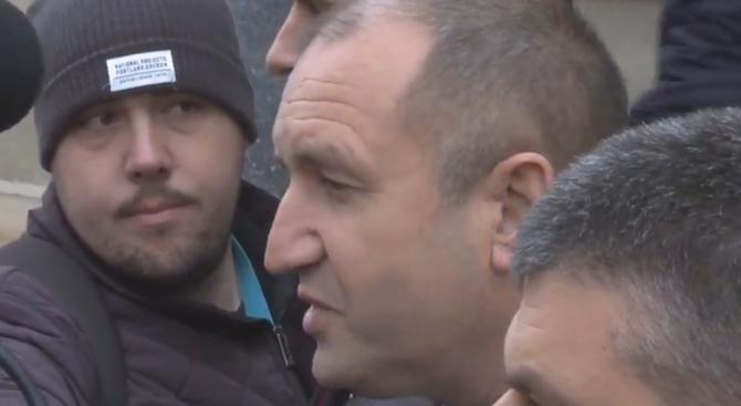 Президентът: Не съм казвал, че България е блато, а че трябва да се измъкне от блатото