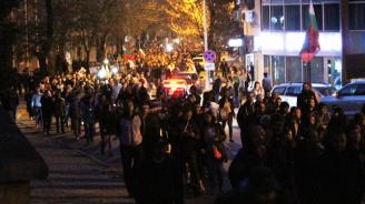 Варненци също излязоха на протест