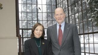 Симеон Сакскобургготски и съпругата му Маргарита са на посещение в Лондон по повод 70-годишнината на принц Чарлз