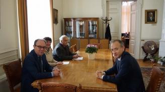 Красимир Вълчев се срещна с ръководството на БАН (снимка)