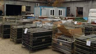 Откриха 30 000 литра нелегално вино в стопанска постройка (снимки)