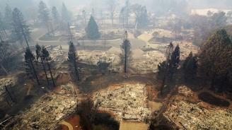 63 са жертвите на пожара в Северна Калифория, а 600 души се водят за изчезнали