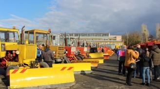 89 машини чакат зимата в Пловдив