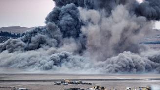 """40 загинали при въздушни удари на оглавяваната от САЩ коалиция срещу """"Ислямска държава"""" в Сирия"""