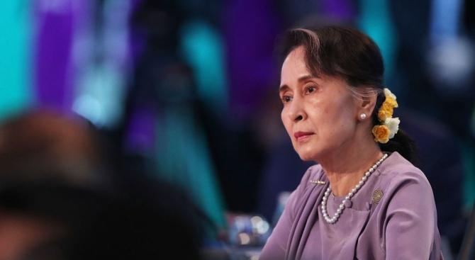 """Амнести интернешънъл"" обяви днес, че лишава Аун Сан Су Чжи"