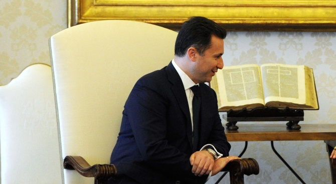 Бившият македонски премиер Никола Груевски не е напускал територията на