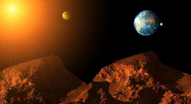 НАСА си поставя за цел да изпрати астронавти на Марс,