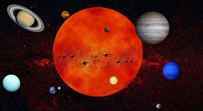 Астрономи откриха супер земя в орбита около съседна на Слънцето звезда